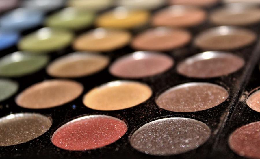 cosmetici palette ombretti