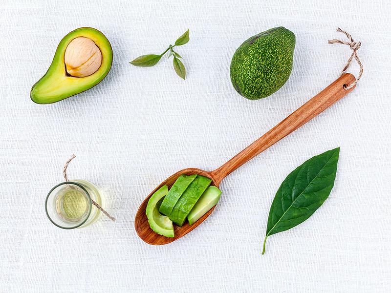 maschera avocado