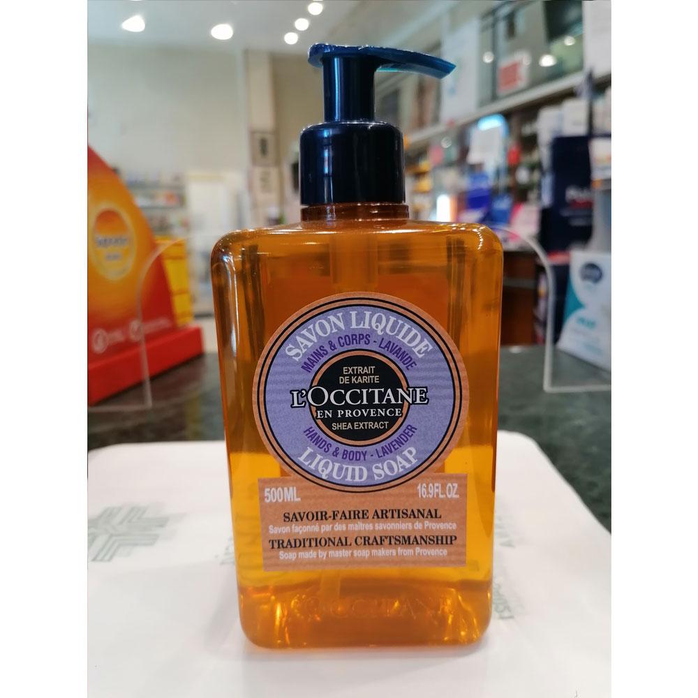 sapone liquido mani Occitane
